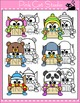 Winter Activities - Owls Writing Activity and Bulletin Board Decor
