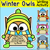 Winter Activities - Owls Writing Activity and Bulletin Boa