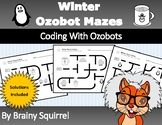 Winter Ozobot Mazes - Winter Coding