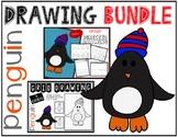 Winter PENGUIN Drawing Bundle