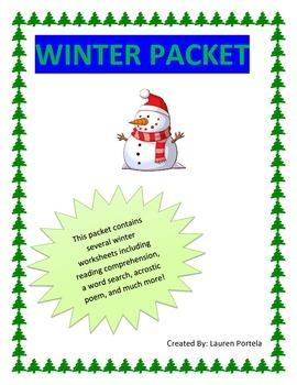 Seasons-Winter Packet