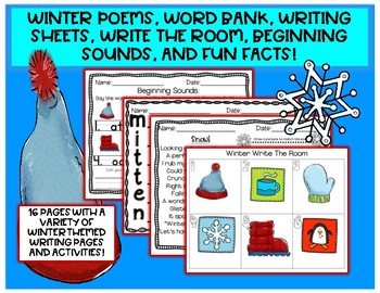 Winter Packet FREEBIE!