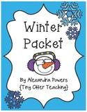 Winter Packet (Math & Language Arts)