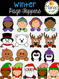 Winter Page Toppers