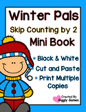 Winter Pals Skip Counting by 2 Mini Book