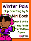 Winter Pals Skip Counting by 5 Mini Book