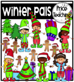 Winter Pals (The Price of Teaching Clipart Set)