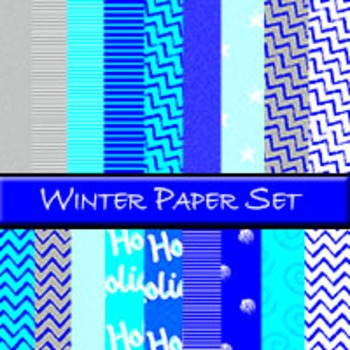 Winter Paper Set