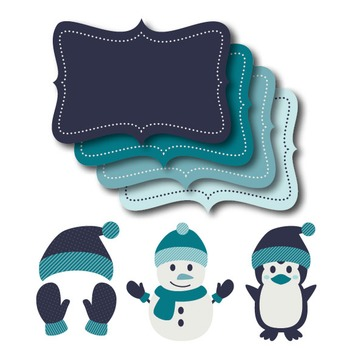 Winter Papers & Clipart