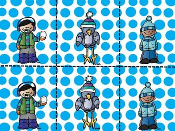 Winter Partner Cards