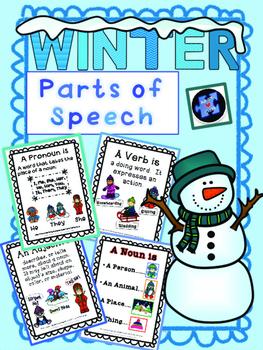 Winter: Parts of Speech