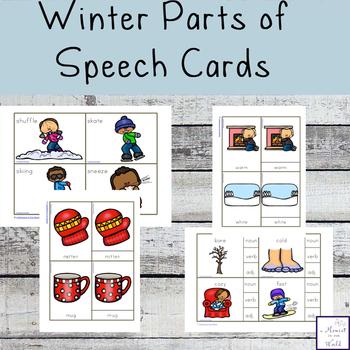 Winter Parts of Speech