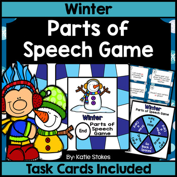 Winter Parts of Speech Game