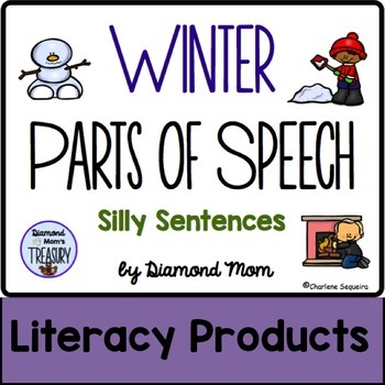 Winter Parts of Speech Silly Sentences