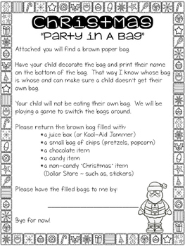 Winter Party In A Bag