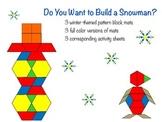 Winter Pattern Blocks