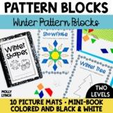 Winter Pattern Block Mats + Mini Book