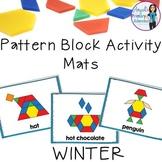 Winter Pattern Block Mats