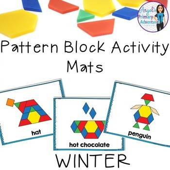 Winter Pattern Block Mats