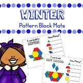 Winter Pattern Blocks Mats