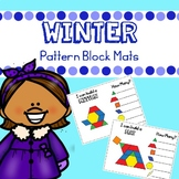 Winter Pattern Blocks Mats