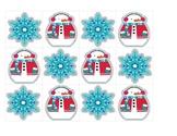 Winter Pattern Cards & Calendar Pieces