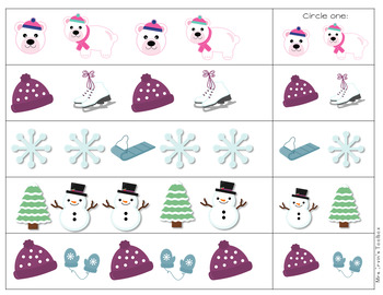 Winter Pattern Mats freebie!