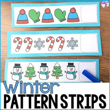 Winter Pattern Strips