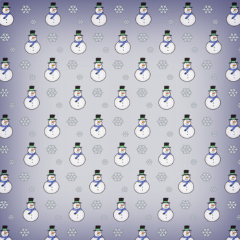 Winter Patterned Paper/ Background | Commercial Use