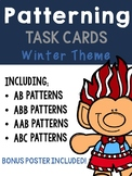 Winter Patterning - Clothes Peg Clip It Activities