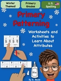 Winter Patterning - Learning About the Attributes - 29 pages - U.S. Version