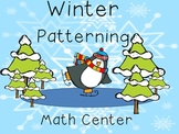 Winter Patterning Math Center