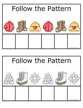 Winter Patterning Mats