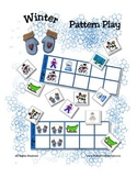 Winter Patterning Play Game - Season Fun ~ Early Reading C