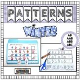 Winter Patterns   File Folder Activities   Worksheets
