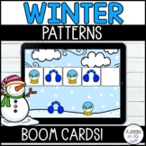Winter Patterns Boom Cards for December January February D