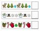Winter Patterns File Folder Game