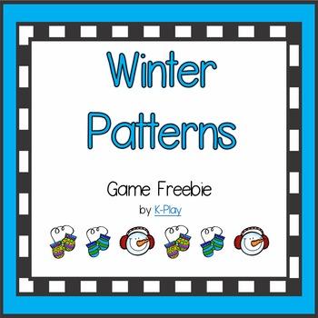 Winter Patterns Game Freebie