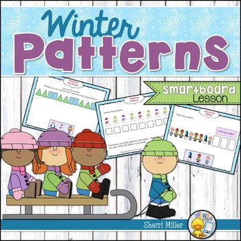 Winter Patterns SMARTboard lesson