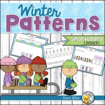 Winter Patterns SMARTboard lesson