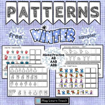 Winter Patterns Sampler Free