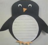 Winter Penguin Book Report Craft