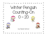 Winter Penguin Counting on 0 to 20