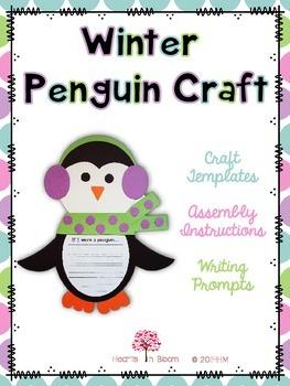 penguin craft template teaching resources teachers pay teachers