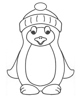 Winter Penguin Craft And Writing Template By Anna Morgan Tpt
