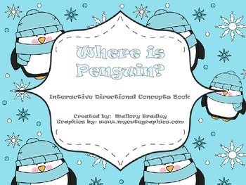 Winter: Penguin Directional Concepts and Where Questions f