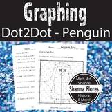 Winter Penguin Dot to Dot, Graphing Ordered Pairs, Fun Math