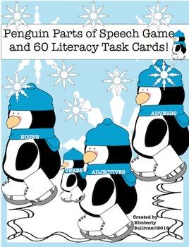 Penguins January Winter Morning Work  Game  Literacy Task