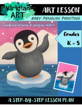 Winter Penguin Lesson