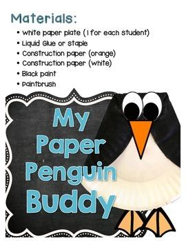Winter Penguin Mini Activity Kit